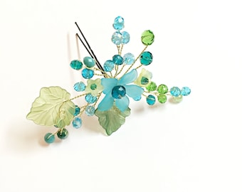 Bridesmaid Hair Accessories, bridesmaid gift hair piece, bridesmaid gifts headpiece, bridesmaid hair pin, mother of the bride headpiece