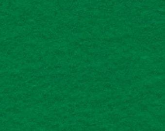 """1 Yard Kelly Green Acrylic Felt 36""""x36"""""""