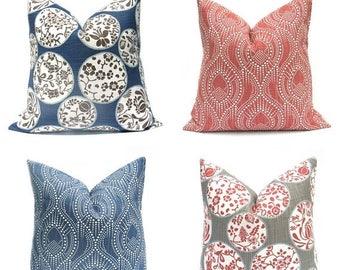 15% Off Sale Navy Pillow, Blue Pillow, Blue Pillow Cover, Red Pillow, Maroon Pillow, Blue throw Pillow, Blue Accent Pillow, Burgundy Pillow,