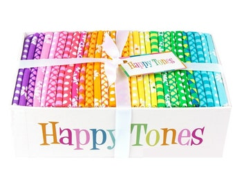 NEW Happy Tones 30 Piece Fat Quarter Bundle