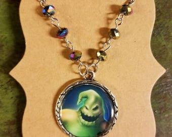 Custom Nightmare Before Christmas Oogie Boogie Necklace