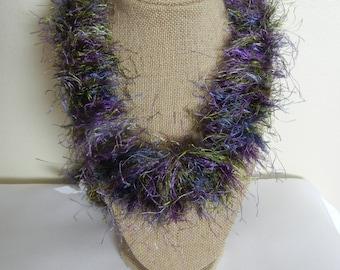Green Purple Eyelash