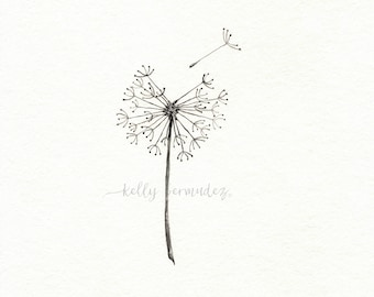 I am blown away by your love,  wall art, Minimal art, watercolor print, black and white, Archival