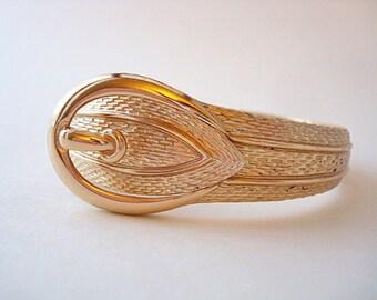 Vintage Gold Avon Buckle Bracelet
