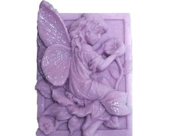 Lavender Soap - Organic Soap - Fairy Soap -  Glycerin Soap  - Soap - All Natural Soap - Lavender Essential Oil