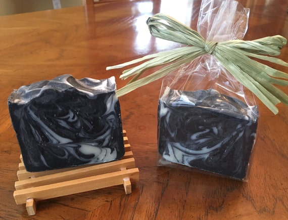 Charcoal Anti-Acne Soap, All Natural, Vegan