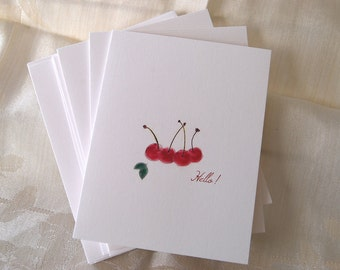 Thank You, Folded Notes, Cherries, Hello, Orchard, Blank Inside, Thinking of You, Farm Stand, Thinking Of You