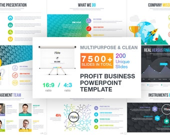 Profit | Business Template