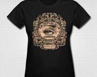 Ouija Board with Mystic Eye Tee shirt