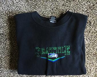 Vintage Seattle Seahawks Sweater