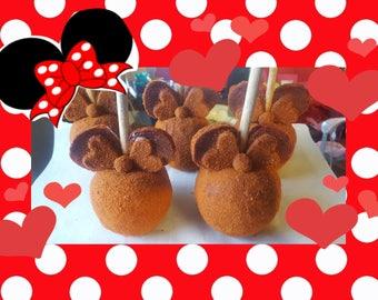 Minnie Tamarind Covered Apples w/Chili Powder