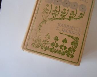 Little Miss Cricket At School Antique Book