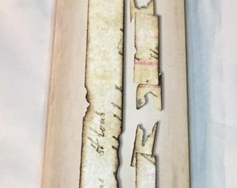 Sizzlits Decorative Strip Die*  Tattered Banners * Tim Holtz Alterations * New in Package * Sizzix 657179