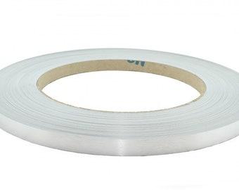 "pvc Real Brushed Aluminum Code M021 Automatic Edge Banding 2""x25' 1mm"