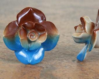 Rose Ceramic Cabinet Knob