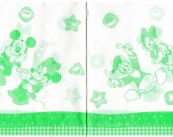 487 MICKEY 1 towel paper 1 fold 30 x 30
