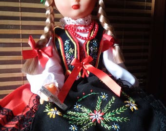 Polish doll in costume of Piotrkow