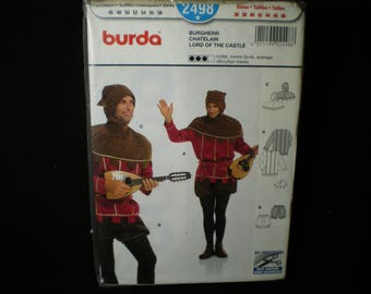 Pattern Burda No. 2498 Costume Adult chatelain