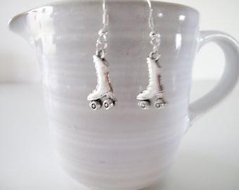 """1 1/2"""" Miniature Roller Skate Earrings"""
