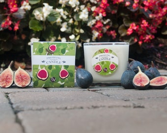 Fresh Fig Scented Candle