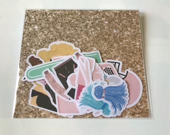 Think Pink!-Die Cuts / Scrapbooking
