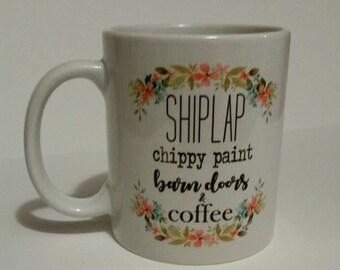 Shiplap, coffee mug, .