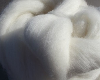 Superwash BFL White 8 oz