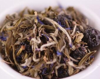 1 oz Blueberry White Tea