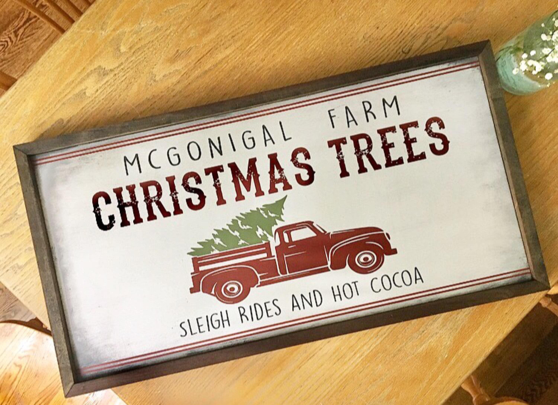 Christmas Tree Farm Rusti...