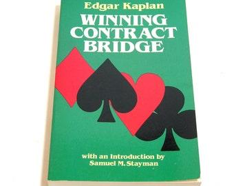 Winning Contract Bridge By Edgar Kaplan