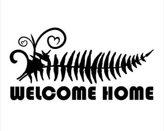 Sticker - Welcome Home Michfest Fern