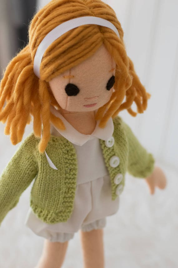Small Doll with Clothing Set