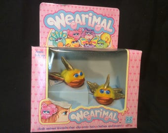 Hasbro Wearimal Goldfish MIB - 1986