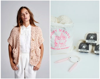 Loopy Mango DIY Kit - Big Cotton Everyday Vest