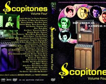 Scopitones Volume 4 (1960-1968 USA/France) Big Hair DVDR!