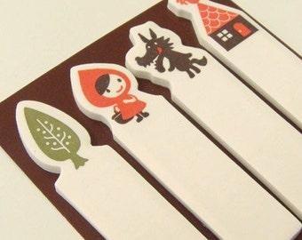 Decole des Otogicco Little Red Riding Hood selbstklebende Seite Marker