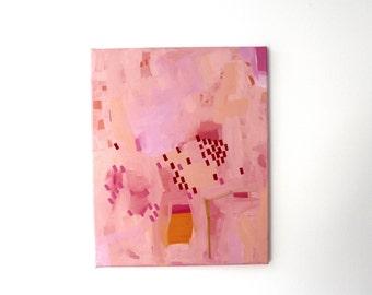 "Acrylic on canvas ""Simply Spring"" 40 x 50 cm Modern Art modern style acrylic original abstract painting on canvas acrylic painting modern"