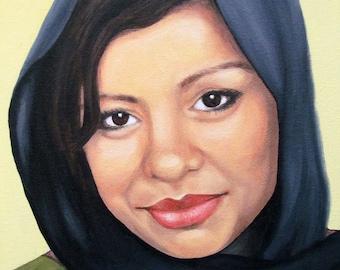 Custom Portrait - Portrait Painting - By Toronto Portrait Artist Malinda Prud'homme