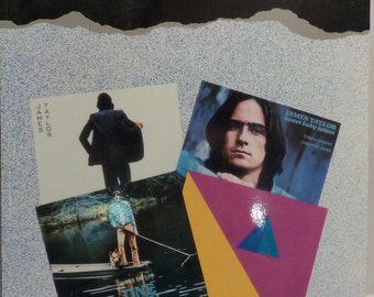 James Taylor Classic Guitar Vocal Piano Music Tab Sheet Music From 4 Albums