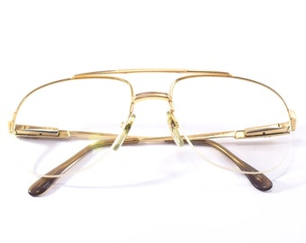 Lacoste vintage gold eyewear from 80s