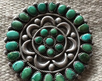 Classic Native American  Cluster Pin