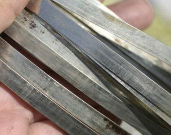 Nickel Silver Bezel Wire - Handmade - 5mm wide - 26 Gauge - 3 feet length