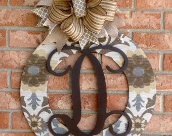Fall Wreath Door Hanger Door Wreath Wood Wreath Housewarming Gift Home Decor Wedding Gift Wall Decor Front Door Hanger
