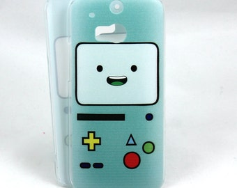 BMO inspired case for HTC One M8/M9 - Beemo Adventure Time