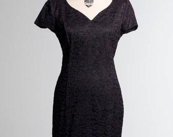 Black Lace Princess Dress