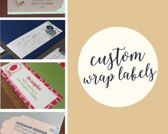 Custom Wrap Labels