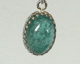 Indicolite (Turquoise Tourmaline) Pendant