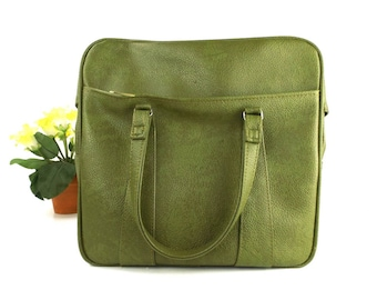 gift. for men. for women. mens. womens. gift for him. gift for her. vintage. green. luggage. tote. tote bag. bag. handbag. carry