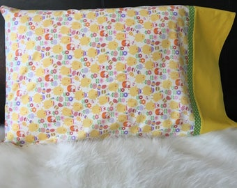 Easter Chicks/Pillowcase/Pillowcasesforcancer/Childhood Cancer Donation with each purchase!