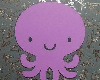 Octopus Cutout